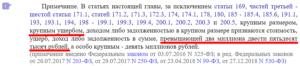 Статья 170.2 УК РФ примечание
